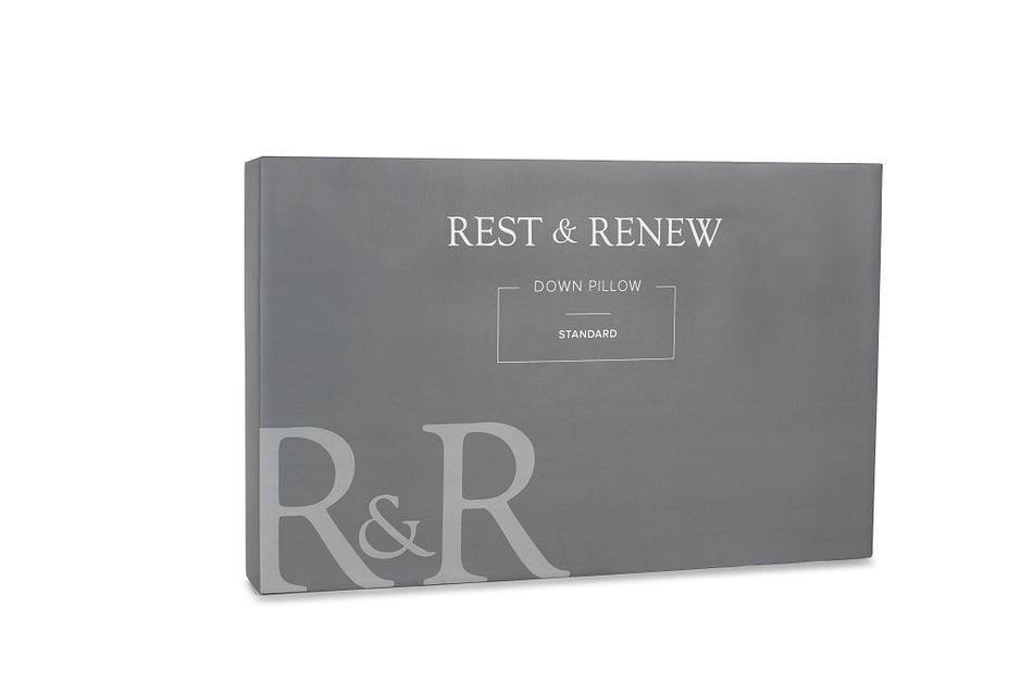 Rest & Renew Down 30%  Side Sleeper Pillow