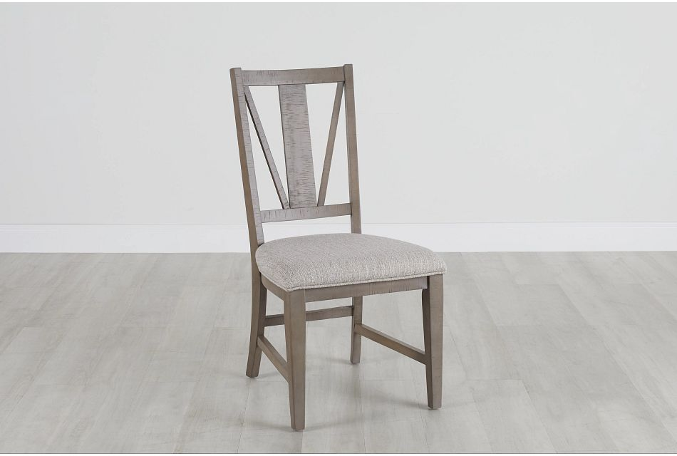 Heron Cove Light Tone Upholstered Side Chair,  (0)