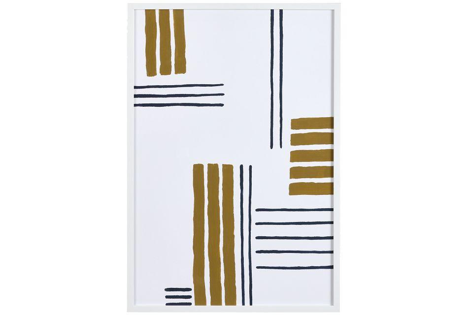 Skye Beige Framed Wall Art,  (0)