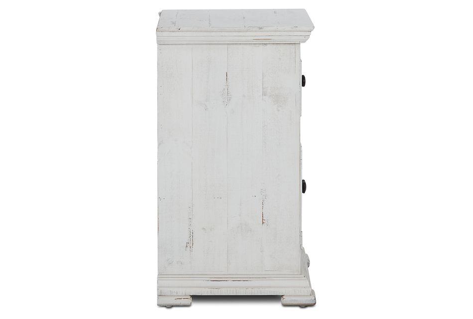 Davenport White Nightstand
