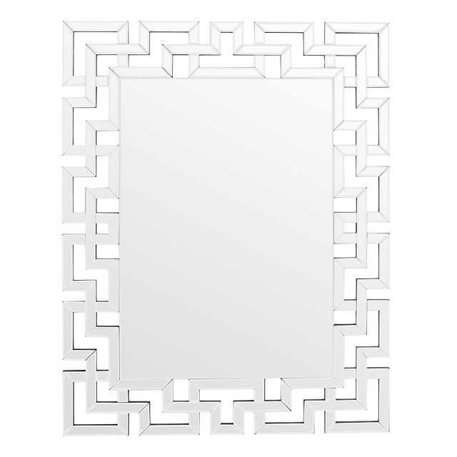 Cameo Silver Mirror