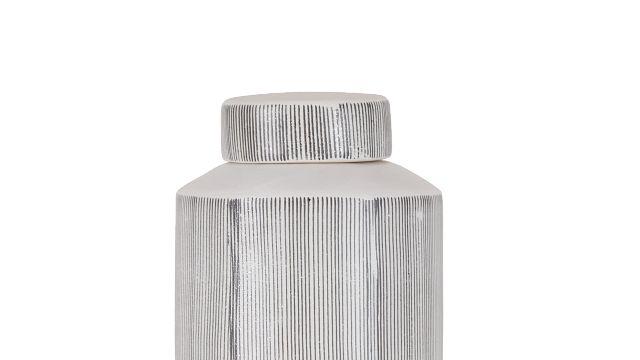 Rigel Gray Ceramic Jar (2)