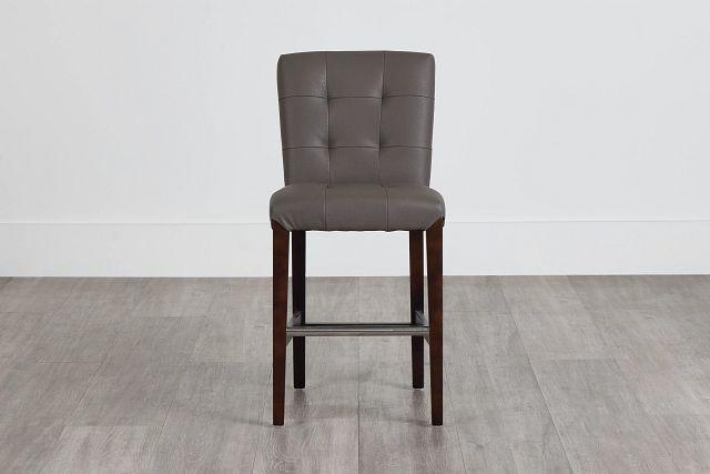 """Shelby Graymicro 24"""" Upholstered Barstool (0)"""