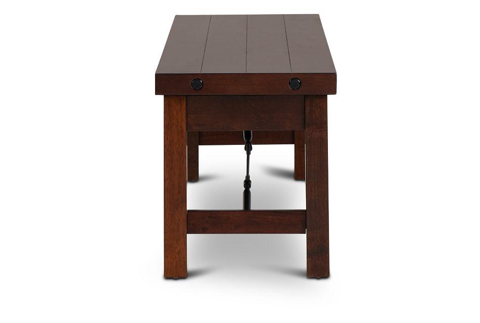 Napa Dark Tone Storage Dining Bench,  (2)