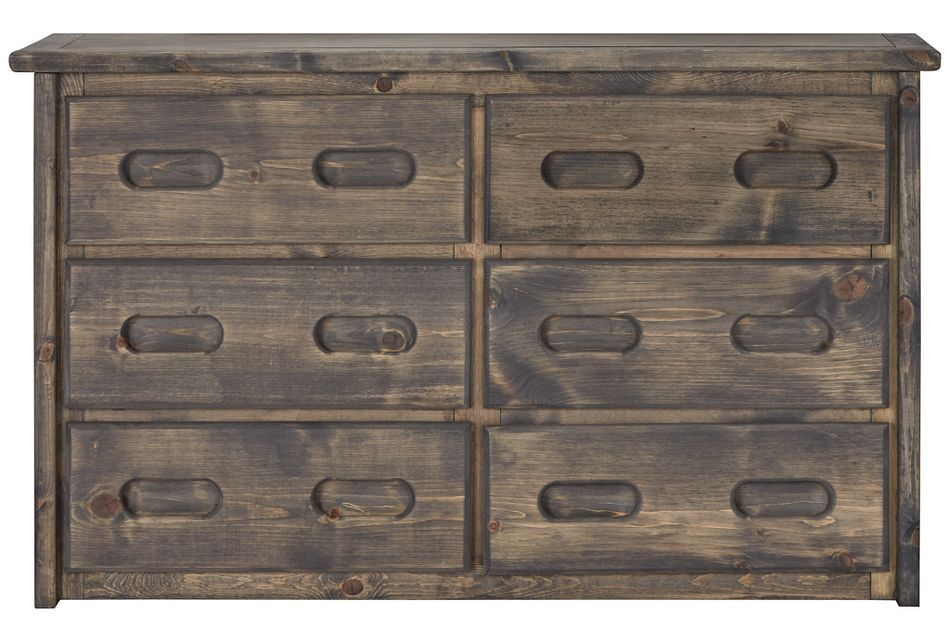 Cinnamon Gray Large Dresser