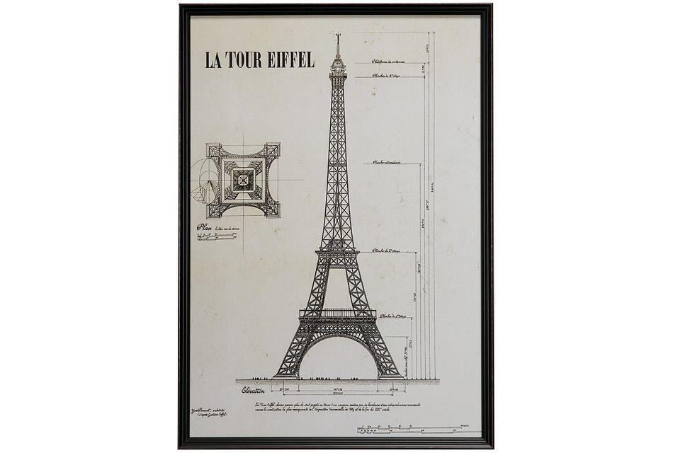 Paris Gray Framed Wall Art