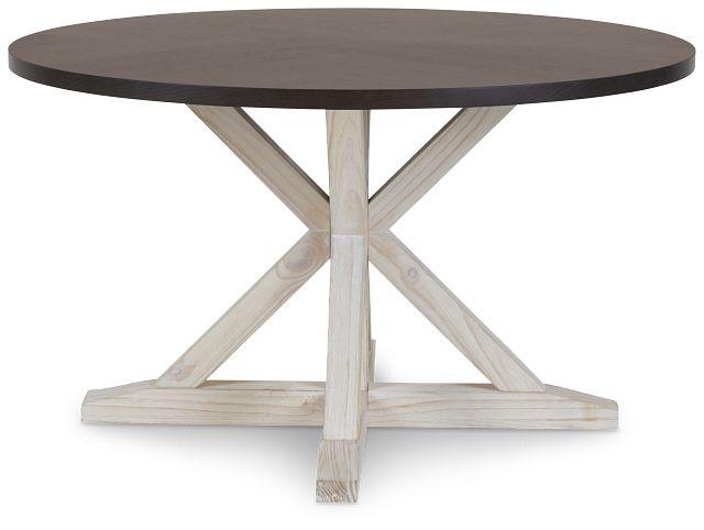 Jefferson Two-tone Round Table (2)