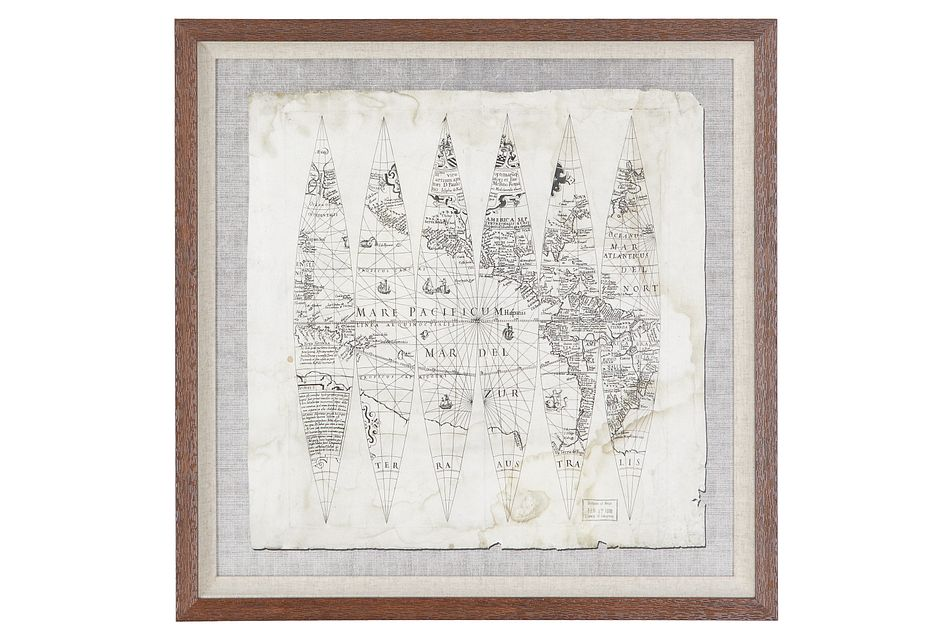 Geo Gray Framed Wall Art