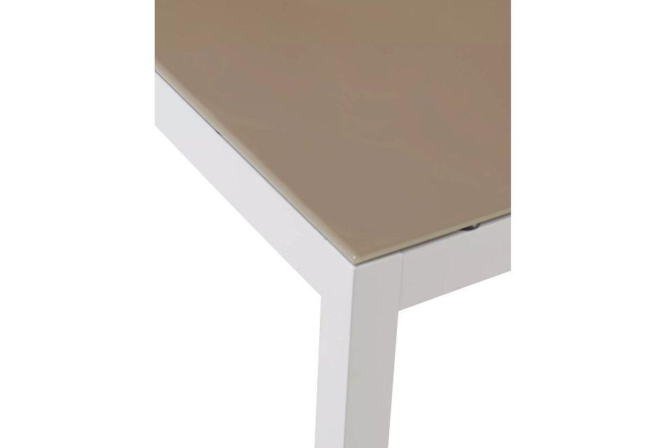 """Aventura Champagne 40"""" Square Table,  (3)"""