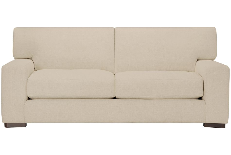 "Veronica 90"" Khaki Down Sofa"