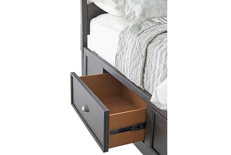 Heron Cove Dark Tone Panel Storage Bed