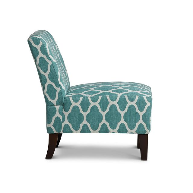 Comet Light Blue Fabric Accent Chair (1)