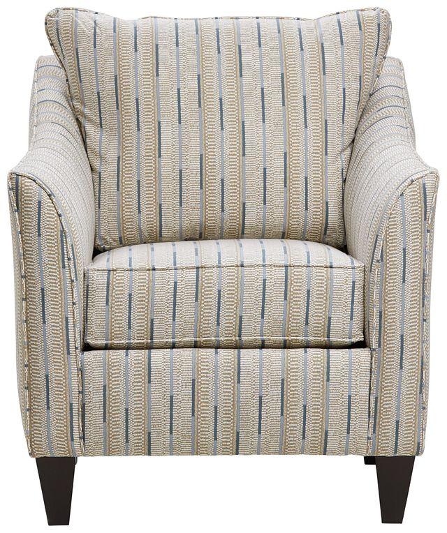 Ashanti Khaki Fabric Accent Chair (1)
