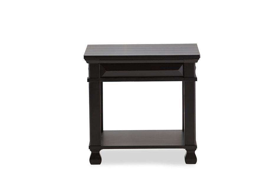 Passages Black End Table