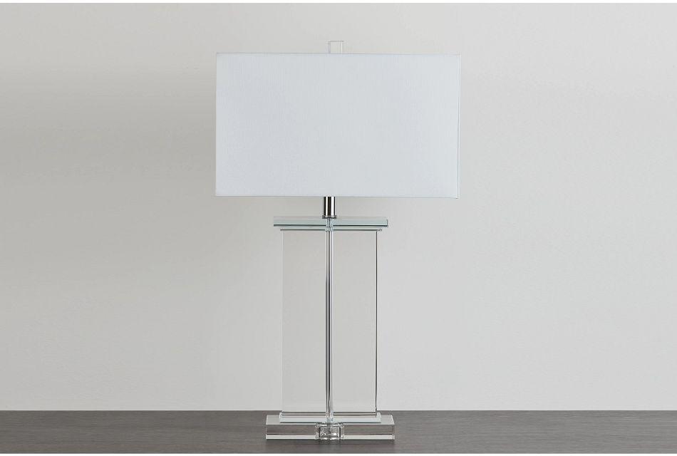 Orsa Clear Table Lamp