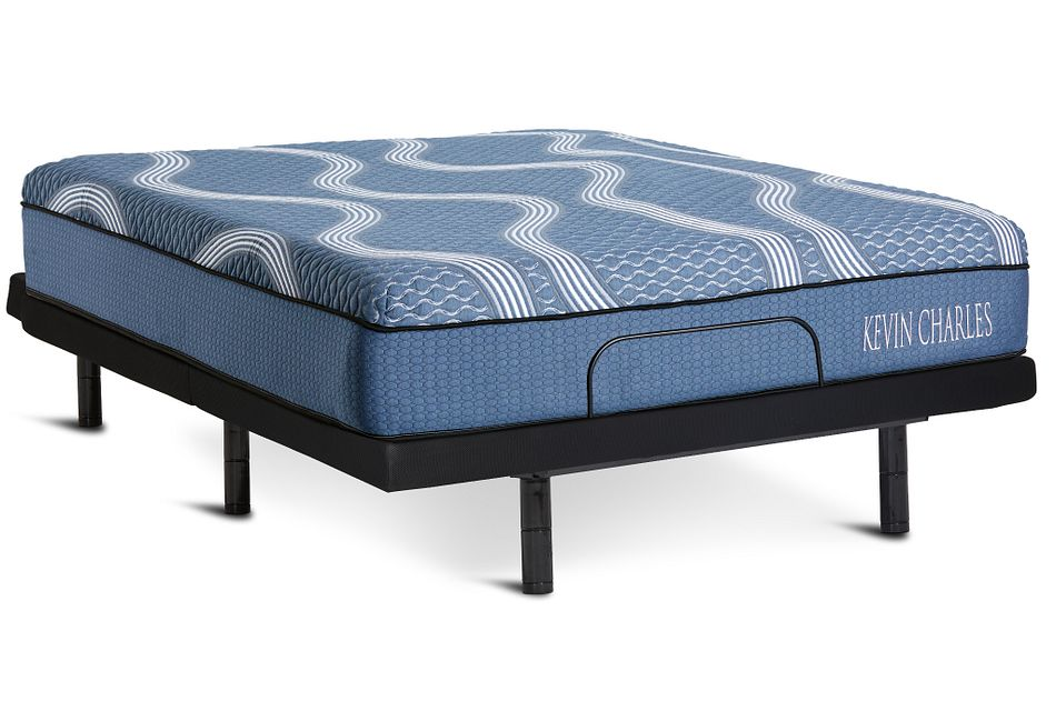 Kevin Charles Vista Hybrid Bronze Adjustable Mattress Set