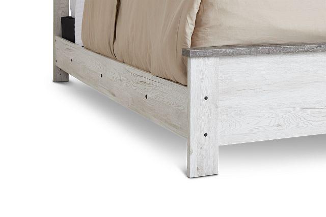 Blueridge Two-tone Panel Bed