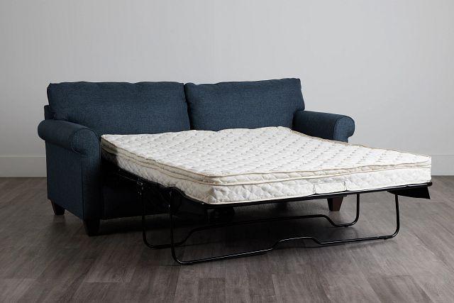 Cameron Blue Fabric Innerspring Sleeper (0)