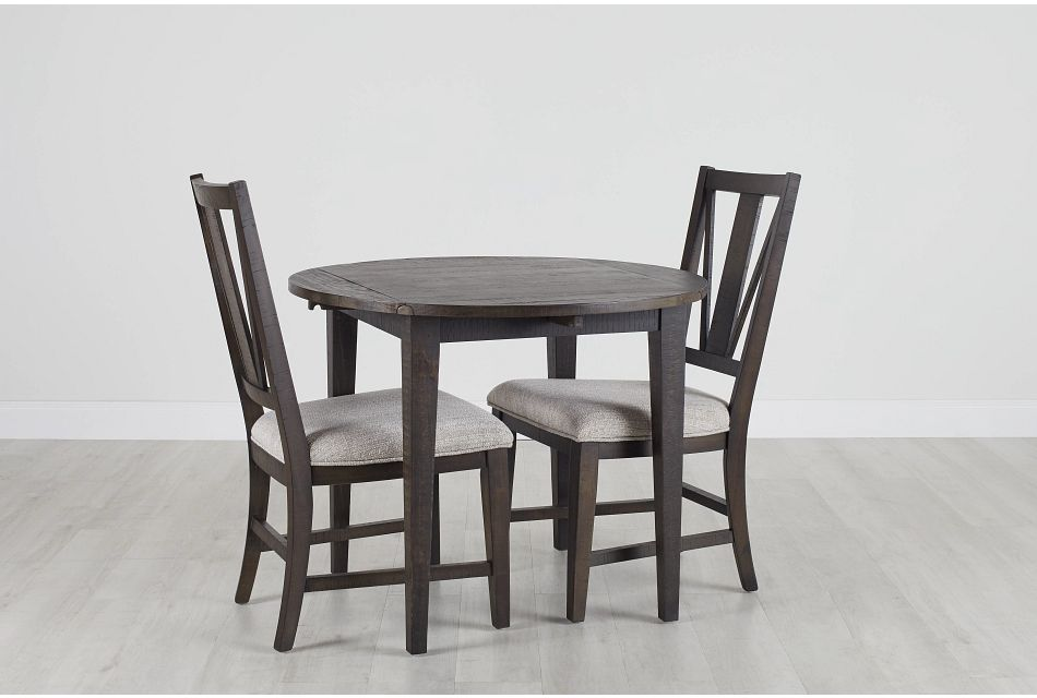 "Heron Cove Dark Tone 38"" Table & 2 Chairs,  (0)"