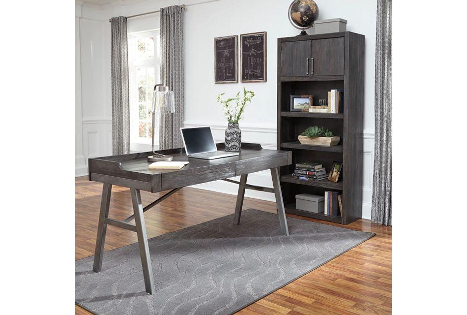 Raventown2 Gray Desk