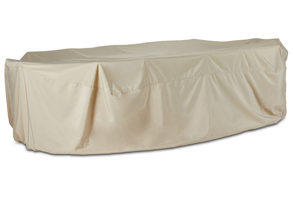 Product Name Khaki Large Table & 4 Chairs Outdoor Cover, %%bed_Size%% (0)