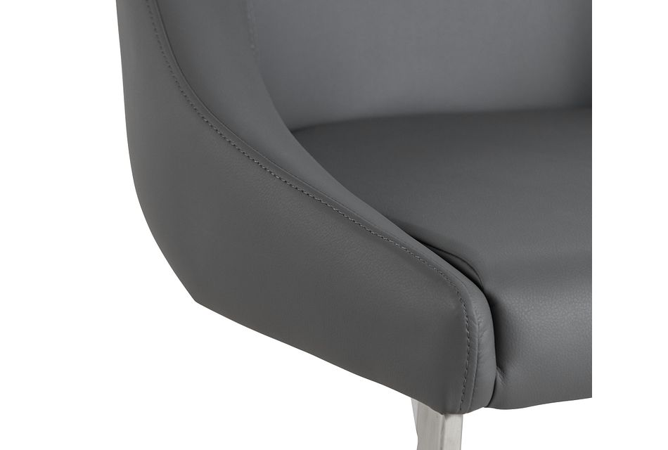 Monaco Gray Upholstered Side Chair