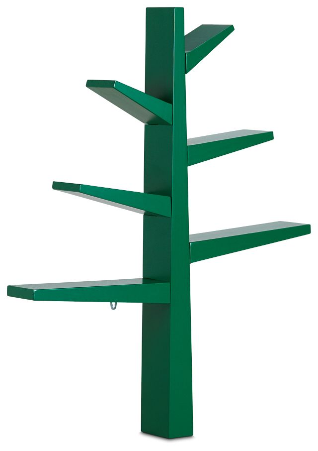 Tree Green Storage Bookcase (2)