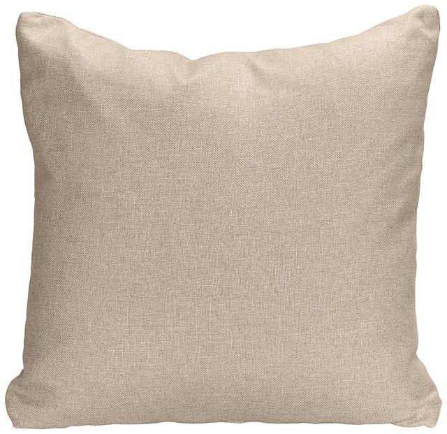 Harper Khaki Fabric Accent Pillow (0)