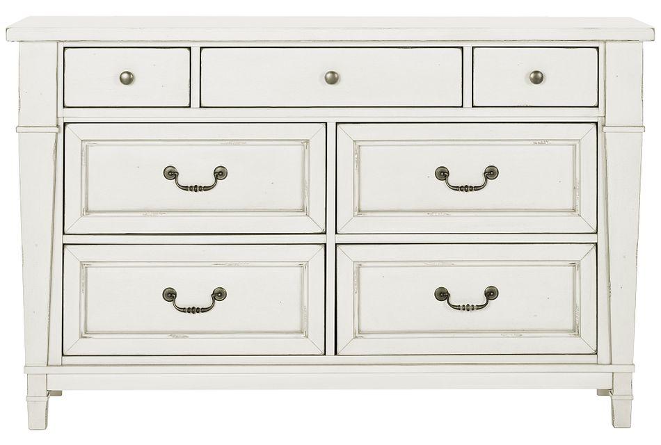 Stoney White Dresser