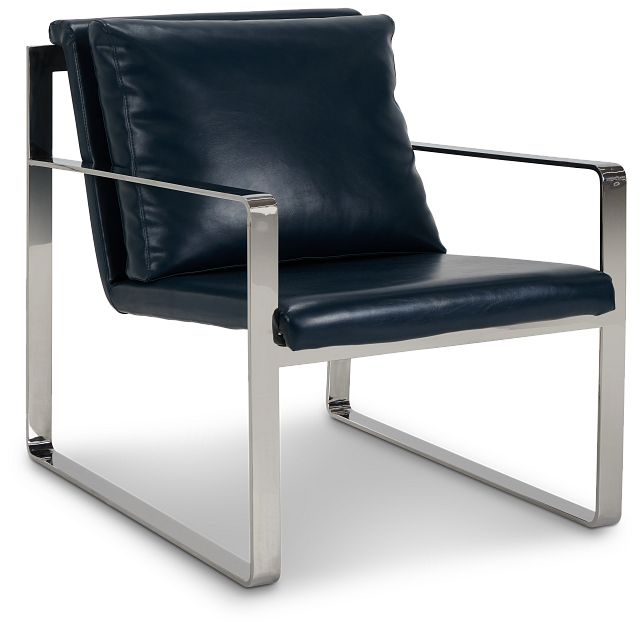Roslin Blue Uph Accent Chair (1)