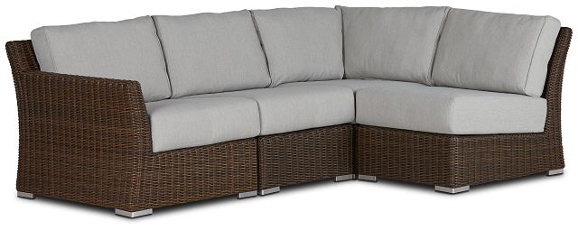 Southport Gray Left 4-piece Modular Sectional (0)
