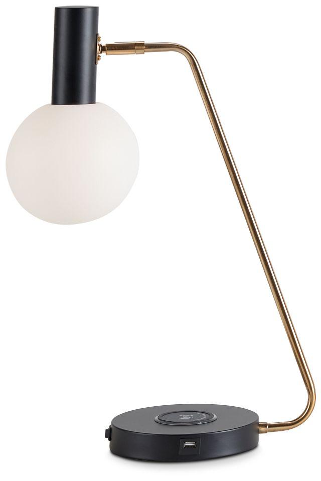 Vita Black Desk Lamp (2)