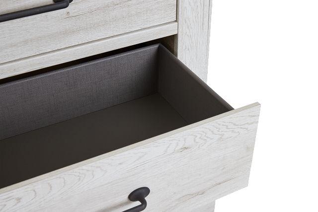 Blueridge Two-tone 4-drawer Chest