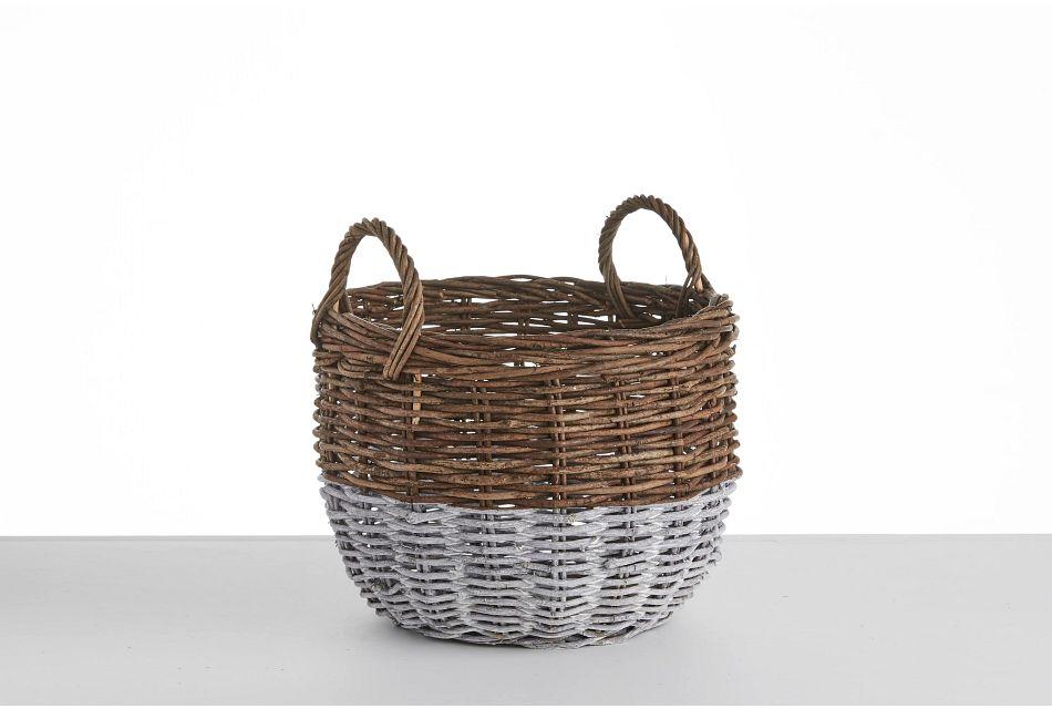 Metz Two-tone Small Basket