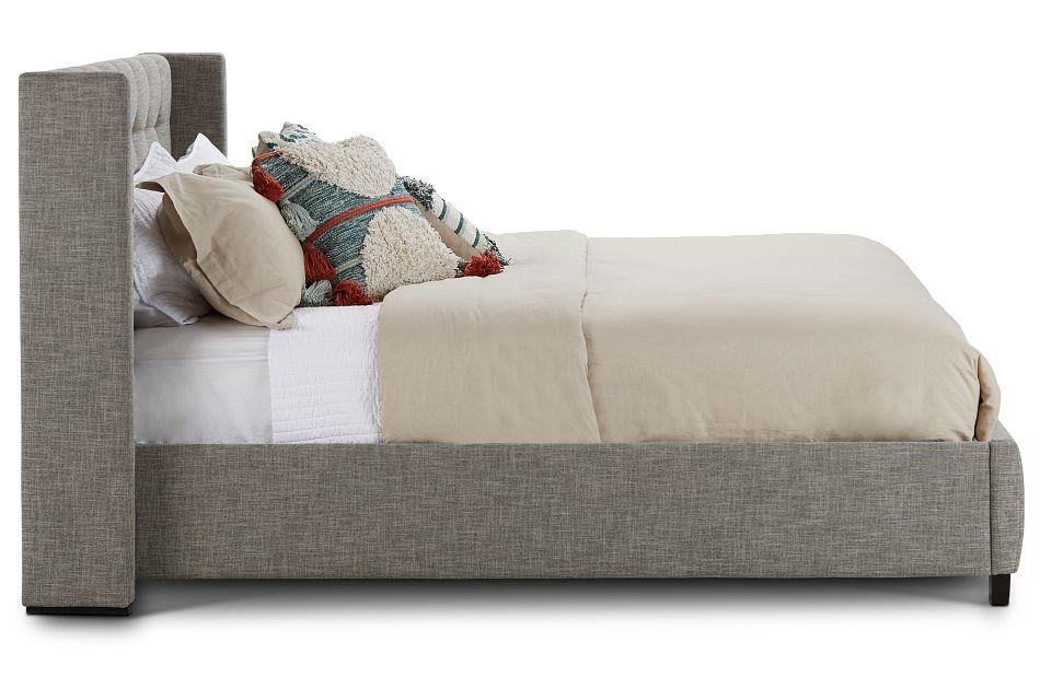 Chatham Pewter Low Platform Bed