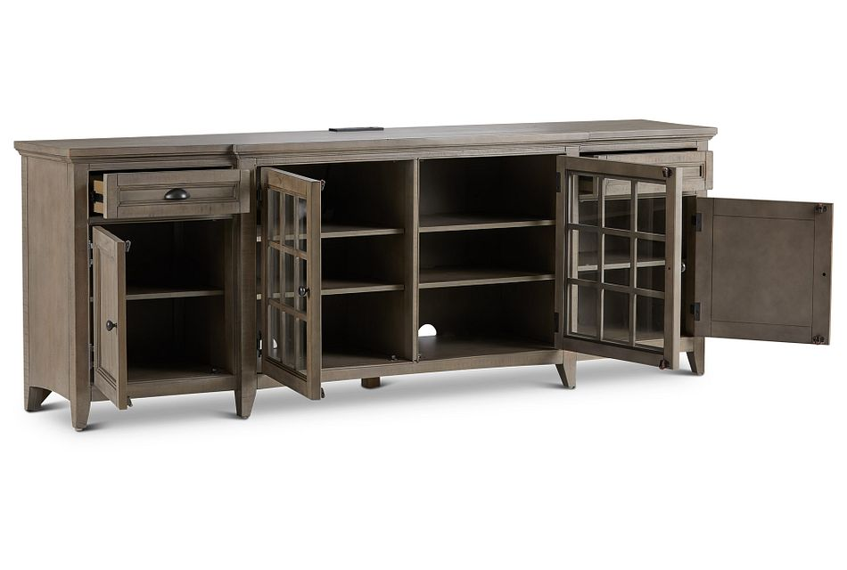 "Heron Cove Light Tone 90"" Tv Stand"
