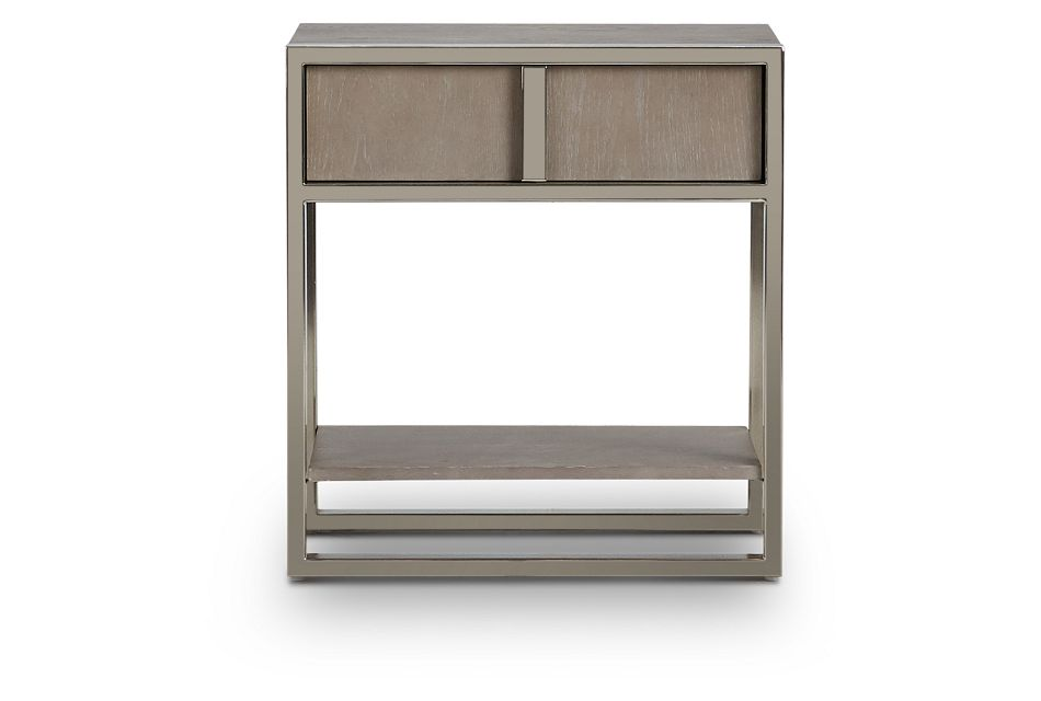 Tribeca Light Tone Nightstand