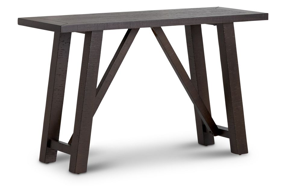 "Cash Gray 24"" High Dining Bench"
