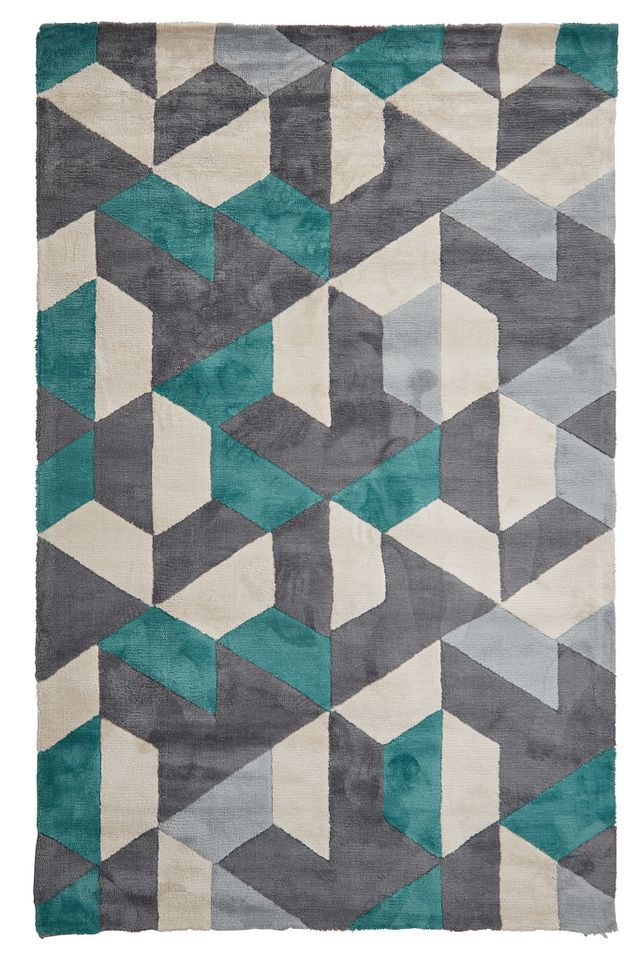 Juvel Green 5x8 Area Rug (0)