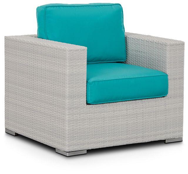 Biscayne Dark Teal Chair (0)