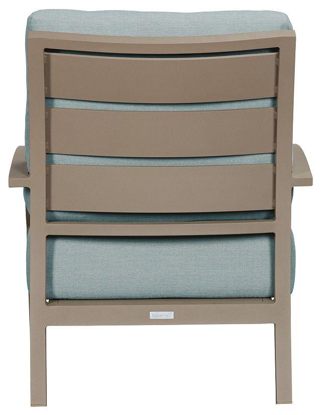 Raleigh Teal Aluminum Chair (2)