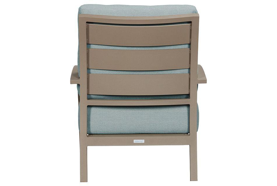 Raleigh Teal Aluminum Chair