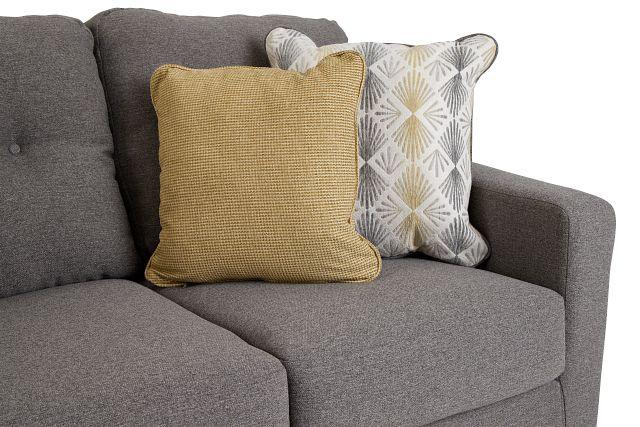 Daylon Light Gray Micro Sofa