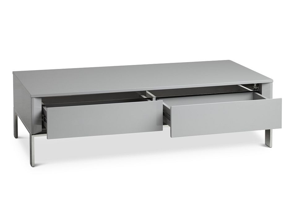 Vancouver Gray Rectangular Coffee Table