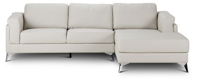 Gianna Gray Micro Right Chaise Sectional (3)