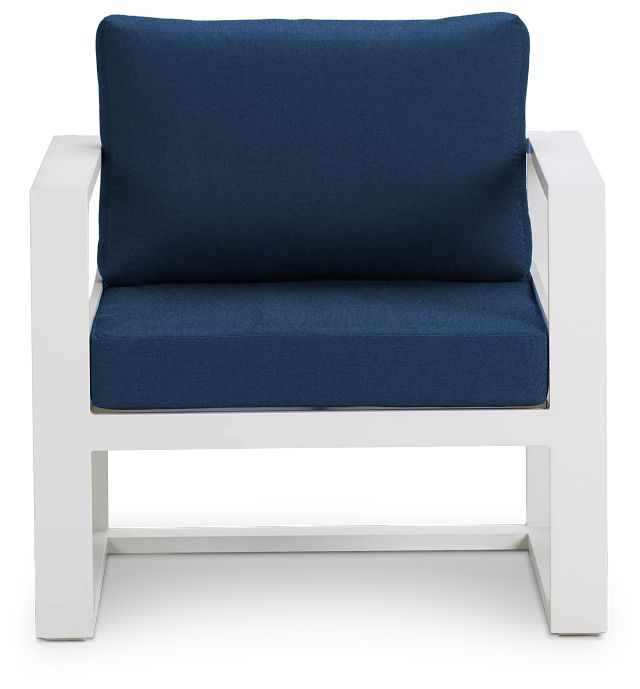 Lisbon Navy Aluminum Chair (2)