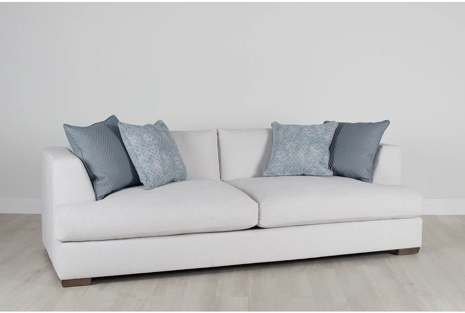Giselle Light Beige Fabric Sofa
