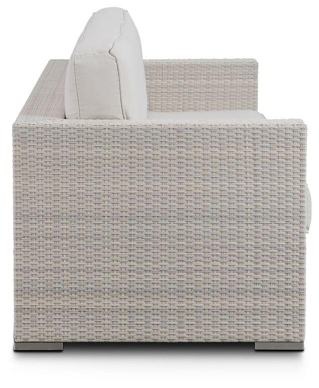 Biscayne White Sofa (2)