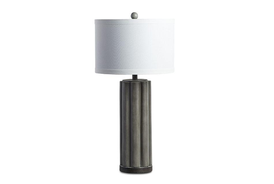 Brighton Gray  Table Lamp,  (1)