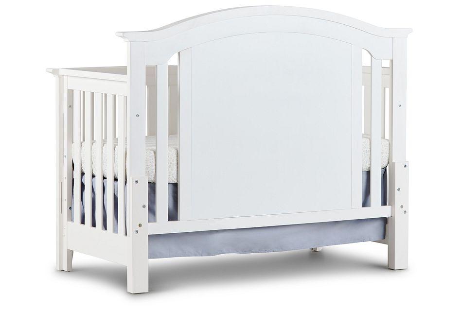 Willowbrook2 White 4-in-1 Crib